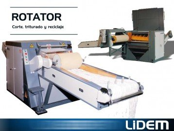 Machines for industrial cutting shredding