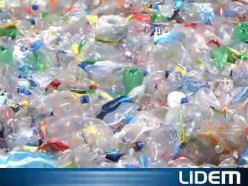 Cutter shredder for PET bottles