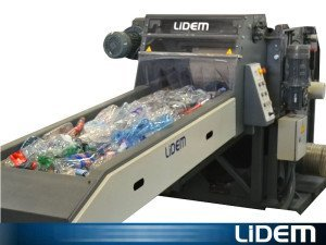 plastic recycling - LIDEM Cutting and recycling machines