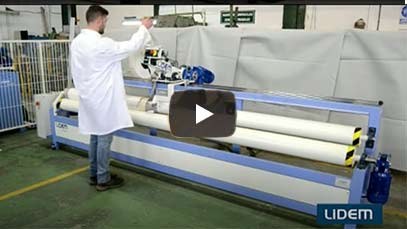 Affordable slitting machine for textiles