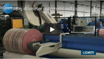 Automatic roll cutter