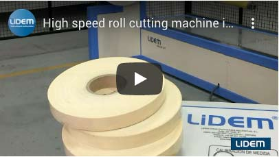 High speed and accuracy roll slitting machine