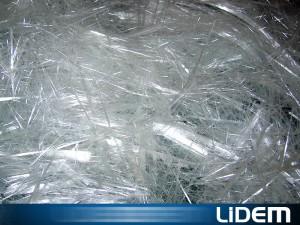 Cortadora trituradora para fibra de vidrio, carbono, kevlar y fibras minerales