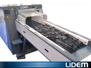 Molino triturador de gran producción para gomaespuma y acolchados