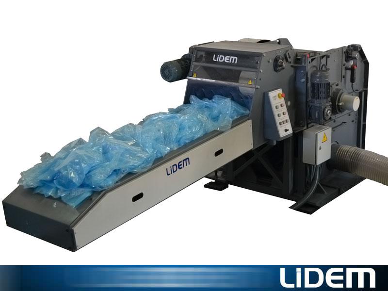 Molino triturador para bolsas de pl stico lidem - Maquina de reciclaje de plastico ...