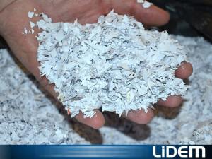 Molino triturador compacto para papel y documentos
