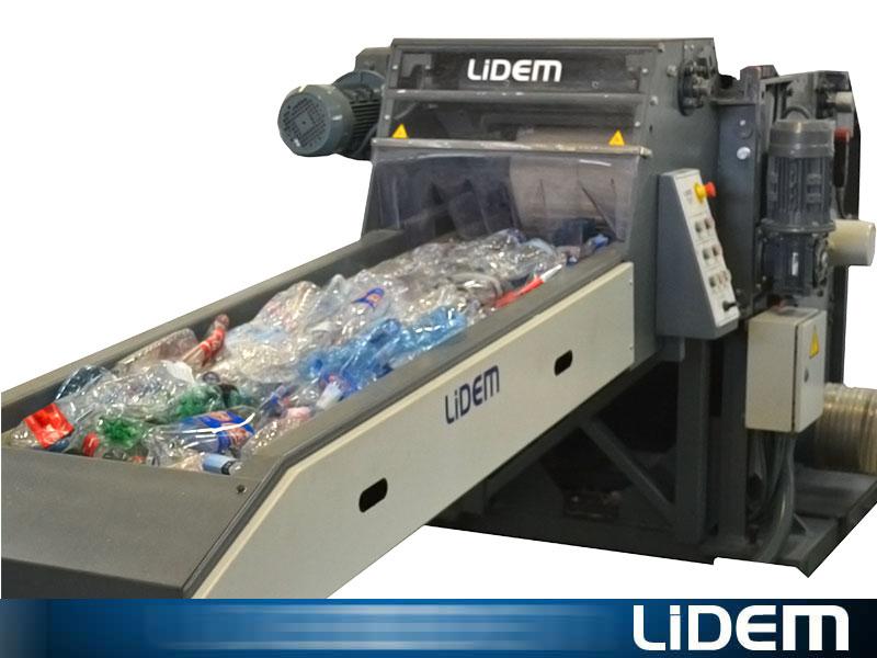 Molino triturador para botellas y envases pet lidem - Maquina de reciclaje de plastico ...